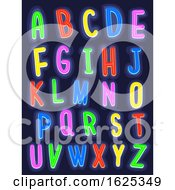 Glow In The Dark Alphabet Illustration