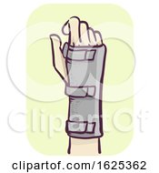 Hand Wrist Support Illustration
