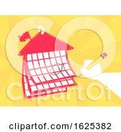 Hand Pencil School Calendar Illustration by BNP Design Studio