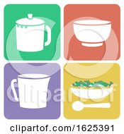 Tea Tasting Set Illustration