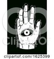 Future Hand Reading Illustration