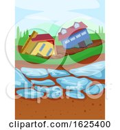 Thaw Permafrost Illustration