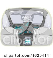 Car Auto Drive Illustration