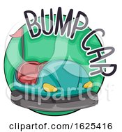 Bump Car Icon Illustration