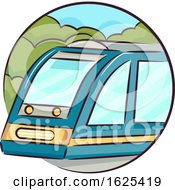 Icon Train Illustration