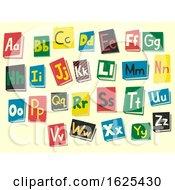 Books Alphabet Illustration