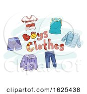 Boys Clothes Illustration