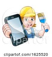 Painter Decorator Handyman Phone Concept