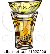 Alcoholic Drink With Lime