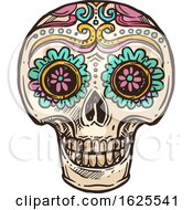 Sugar Skull by Vector Tradition SM