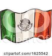 Mexican Flag by Vector Tradition SM
