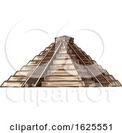 El Castillo Pyramid by Vector Tradition SM