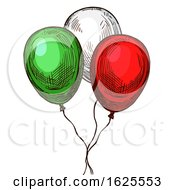 Cinco De Mayo Party Balloons by Vector Tradition SM