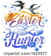 Poster, Art Print Of Easter Egg Hunter Design