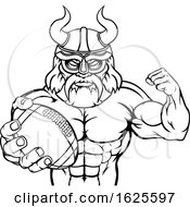 Viking American Football Sports Mascot by AtStockIllustration