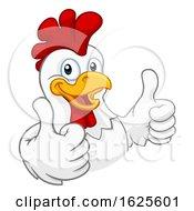 Chicken Cartoon Rooster Cockerel Character