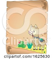 January 20th, 2019: Border Of A Llama By Cactus by visekart