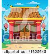 January 20th, 2019: Chinese Temple Undery A Blue Sky by visekart