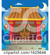 January 20th, 2019: Chinese Temple At Night by visekart