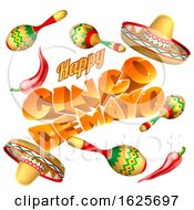 Cinco De Mayo Mexican Holiday Themed Background