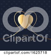 January 20th, 2019: Elegant Valentines Day Background by KJ Pargeter