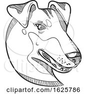 Manchester Terrier Head Drawing