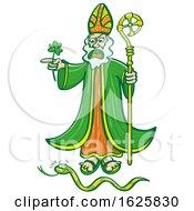 Saint Patrick Chasing A Snake