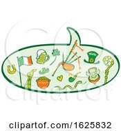 St Patricks Day Speech Balloon by Zooco