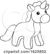 Black And White Toy Unicorn