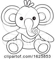 Black And White Toy Elephant
