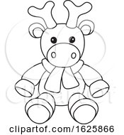 Black And White Toy Deer