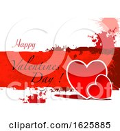 Poster, Art Print Of Grungy Happy Valentines Day Greeting