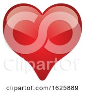 Poster, Art Print Of Red Valentines Day Heart