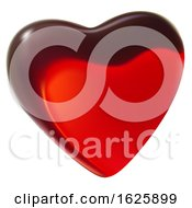 Red Valentines Day Heart