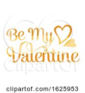 Poster, Art Print Of Valentines Day Be My Valentine Design
