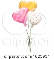 Poster, Art Print Of Valentines Day Balloons