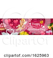 Poster, Art Print Of Valentines Day Website Banner Design