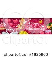 Valentines Day Website Banner Design