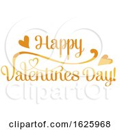 Poster, Art Print Of Happy Valentines Day Design