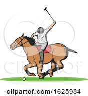 Horseback Polo Player