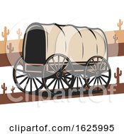 Wild West Covered Wagon by Vector Tradition SM