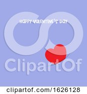 Poster, Art Print Of Simple Valentines Day Card Design