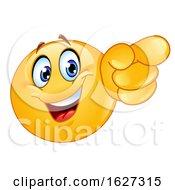 Yellow Emoji Pointing Forward