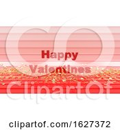 Poster, Art Print Of 3d Render Of Valentines Day Background
