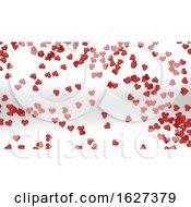 3D Render Of Valentines Day Background