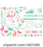 Poster, Art Print Of Pastel Easter Design Elements