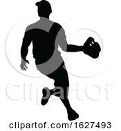 Poster, Art Print Of Baseball Player Silhouette