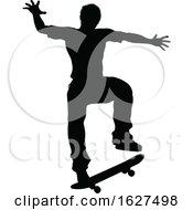Silhouette Skater Skateboarder