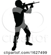 Soldier Detailed Silhouette