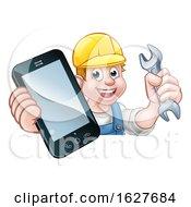 Mechanic Plumber Handyman Phone Concept